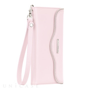 【iPhone6s Plus/6 Plus ケース】REBECCAMINKOFF Leather Folio Wristlet (Pale Pink)