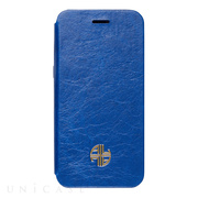 【iPhone6s Plus/6 Plus ケース】Amber Lu Genuine Leather (Blue)
