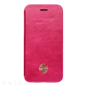 【iPhone6s Plus/6 Plus ケース】Amber Lu Genuine Leather (Pink)