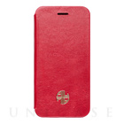 【iPhone6s Plus/6 Plus ケース】Amber Lu Genuine Leather (Red)