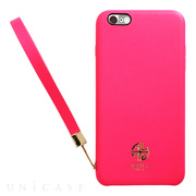 【iPhone6s Plus/6 Plus ケース】Amber Lu PU Case (Pink)