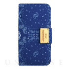 【iPhone6s/6 ケース】LAFINE Diary Paisley Blue for iPhone6s/6