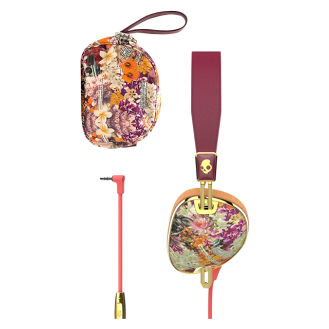Knockout Mic3 (Floral/Burgundy/Rose Gold)サブ画像