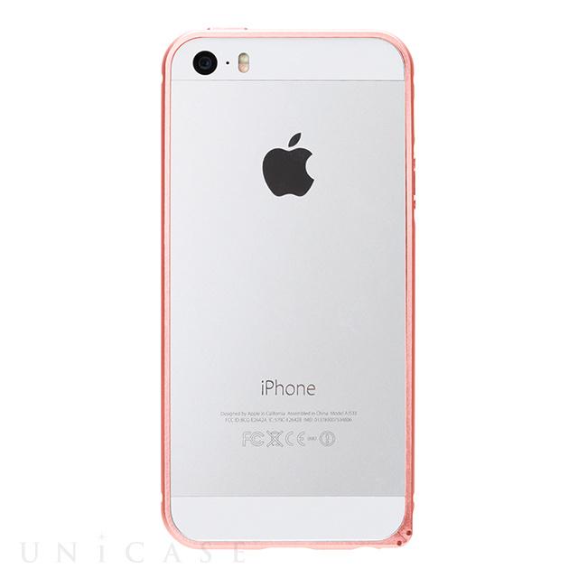 09fe419d43 iPhoneSE/5s/5 ケース】アルミバンパー (ピンクゴールド) PGA | iPhone ...