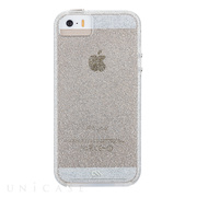 【iPhoneSE(第1世代)/5s/5 ケース】Sheer Glam Case (Champagne Gold)
