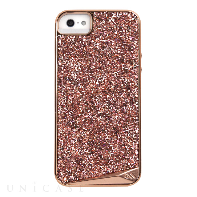 【iPhoneSE/5s/5 ケース】Brilliance Case (Rose Gold)