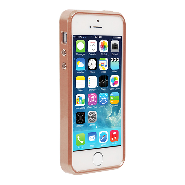 【iPhoneSE/5s/5 ケース】Brilliance Case (Rose Gold)サブ画像