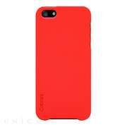 【iPhoneSE(第1世代)/5s/5 ケース】Color Case (Flame Red)