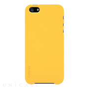 【iPhoneSE(第1世代)/5s/5 ケース】Color Case (Mango Yellow)