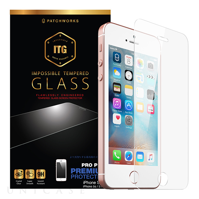 【iPhoneSE/5s/5c/5 フィルム】ITG Pro Plus - Impossible Tempered Glass