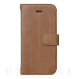【iPhoneSE/5s/5 ケース】Vintage Leather Diary (Vintage Brown)