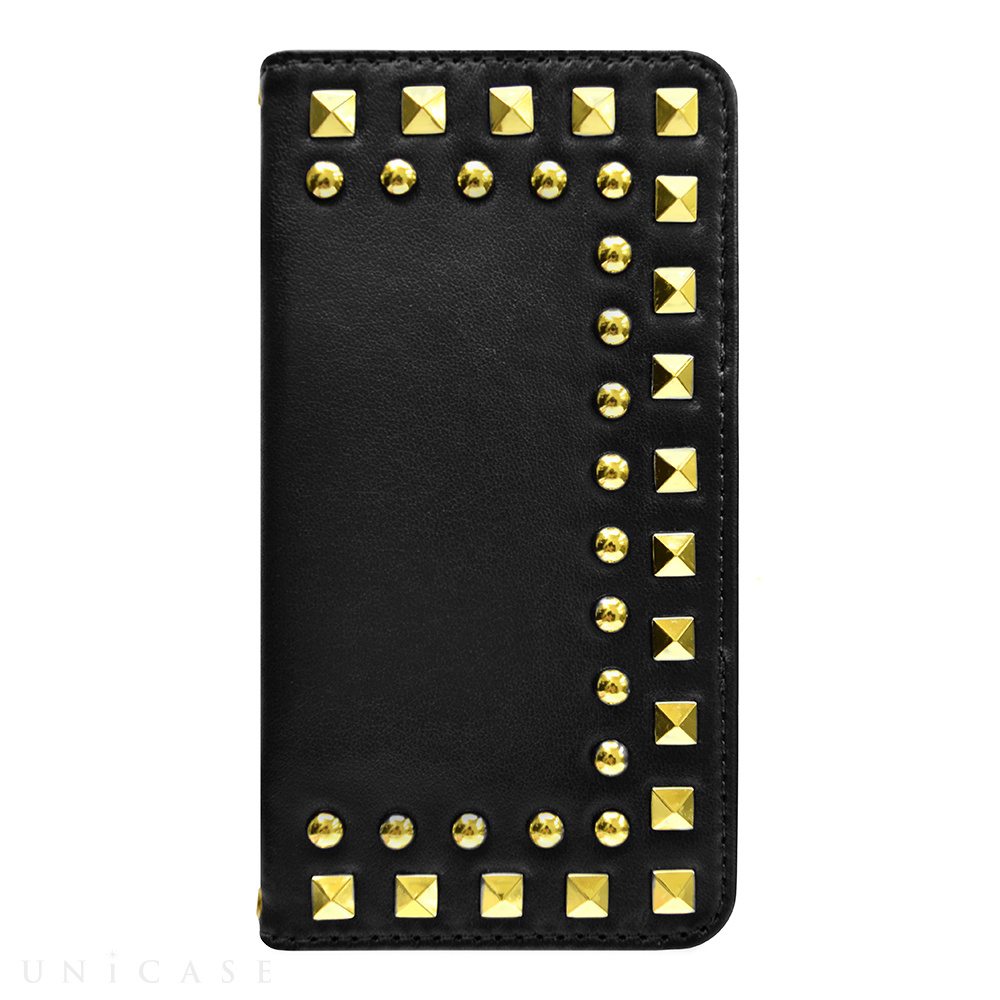 【iPhone6s/6 ケース】Studded Diary Black for iPhone6s/6