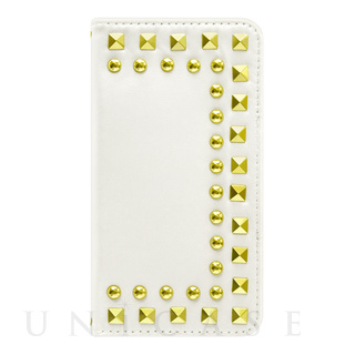 【iPhone6s/6 ケース】Studded Diary Ivory for iPhone6s/6