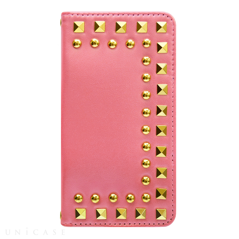 【iPhone6s/6 ケース】Studded Diary Pink for iPhone6s/6
