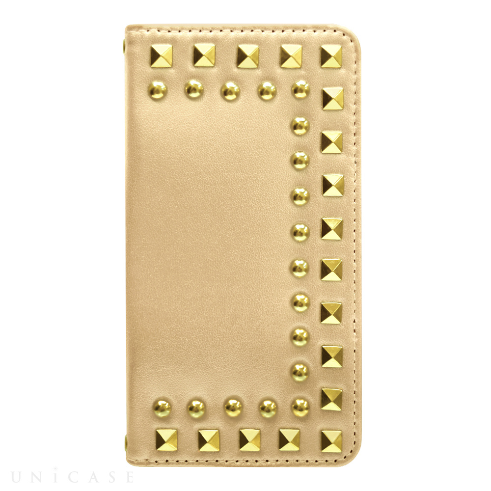 【iPhone6s/6 ケース】Studded Diary Gold for iPhone6s/6
