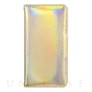 【iPhone6s/6 ケース】Hologram Diary Python Gold for iPhone6s/6