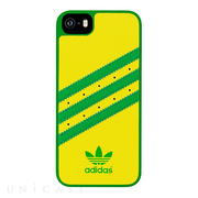 【iPhoneSE/5s/5 ケース】Moulded Case (Yellow/Green)