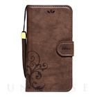 【iPhoneSE/5s/5 ケース】SMART COVER NOTEBOOK (Dark Brown)