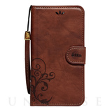【iPhoneSE/5s/5 ケース】SMART COVER NOTEBOOK (Brown)