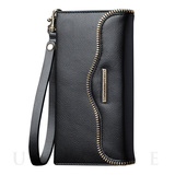 【iPhoneSE/5s/5 ケース】REBECCAMINKOFF Leather Folio Wristlet (Black)