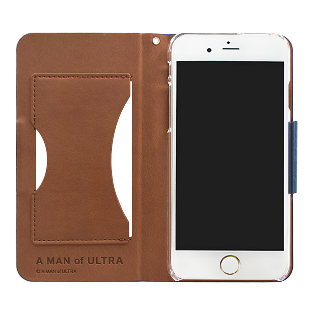 iphone6s 6 ケース a man of ultra ウォレットケース navy for iphone6s