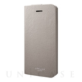 "【iPhoneSE/5s/5 ケース】PU Leather Case ""EURO Passione""  (Gray)"