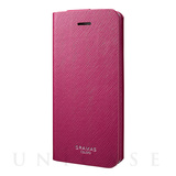 "【iPhoneSE/5s/5 ケース】PU Leather Case ""EURO Passione""  (Red)"