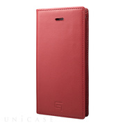 【iPhoneSE/5s/5 ケース】Full Leather Case (Red)
