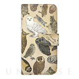 【iPhoneSE/5s/5 ケース】booklet case (フクロウ目の鳥類)