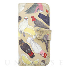 【iPhoneSE/5s/5 ケース】booklet case (オウム科の鳥類)