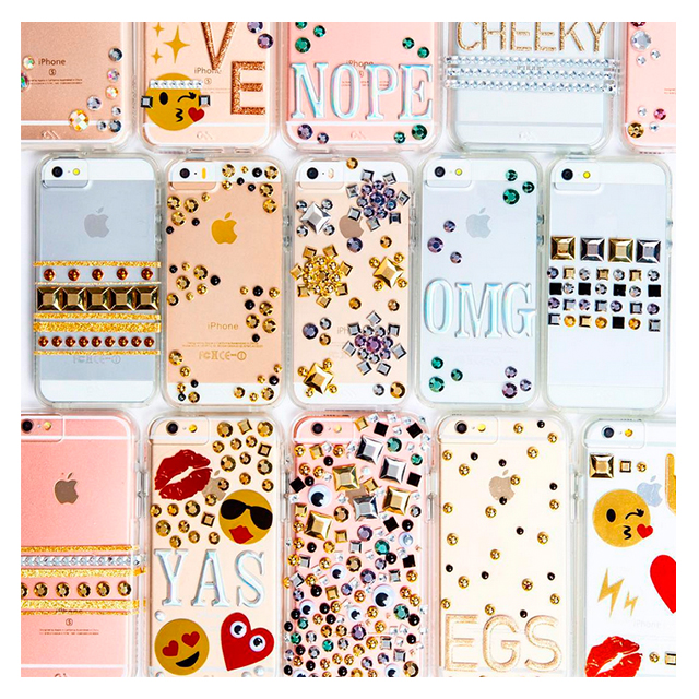 【iPhoneSE(第1世代)/5s/5 ケース】Hybrid Tough Naked CUSTOM Case (Clear) with over 250 unique stickersサブ画像