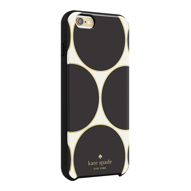 【iPhone6s/6 ケース】Hybrid Hardshell Case (Deborah Dot Cream/Black/Gold Foil)サブ画像