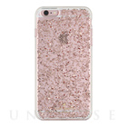 【iPhone6s/6 ケース】Clear Glitter Case (Rose Gold Glitter)【人気ブランド】