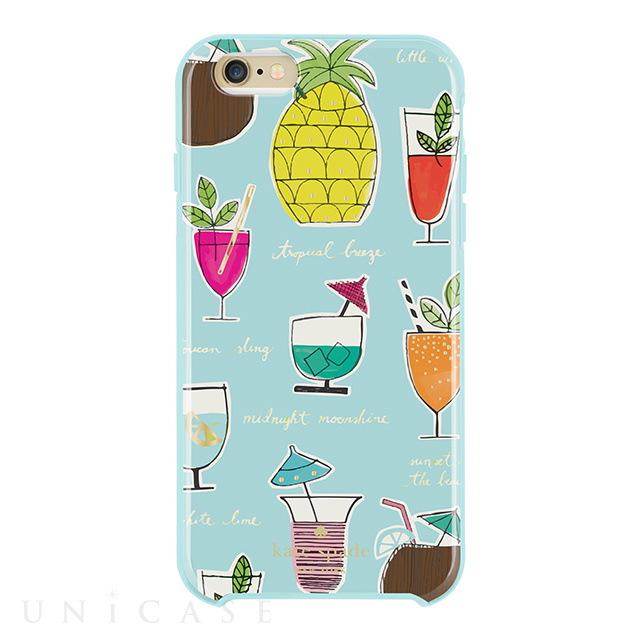【iPhone6s Plus/6 Plus ケース】Hybrid Hardshell Case (Cocktail Recipe Blue/Multi)