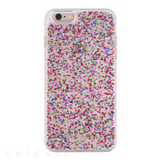 【iPhone6s Plus/6 Plus ケース】Clear Glitter Case (Multi Glitter)