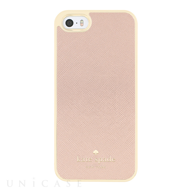【iPhoneSE/5s/5 ケース】Wrapped Case (Saffiano Rose Gold)