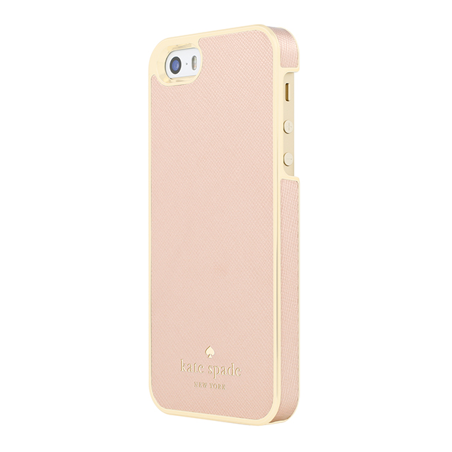 【iPhoneSE/5s/5 ケース】Wrapped Case (Saffiano Rose Gold)サブ画像
