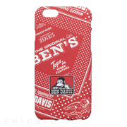 【iPhone6s/6 ケース】BEN DAVIS SILICONE iPhone case (BANDABA/RED)