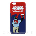 【iPhone6s/6 ケース】BEN DAVIS SILICONE iPhone case (PAINT/NAVY)