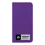 【iPhone6s/6 ケース】YAKPAK Diary Purple for iPhone6s/6