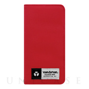 【iPhone6s/6 ケース】YAKPAK Diary Red for iPhone6s/6