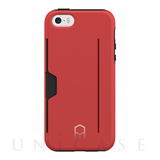【iPhoneSE/5s/5 ケース】Level Case Card Edition (Red)