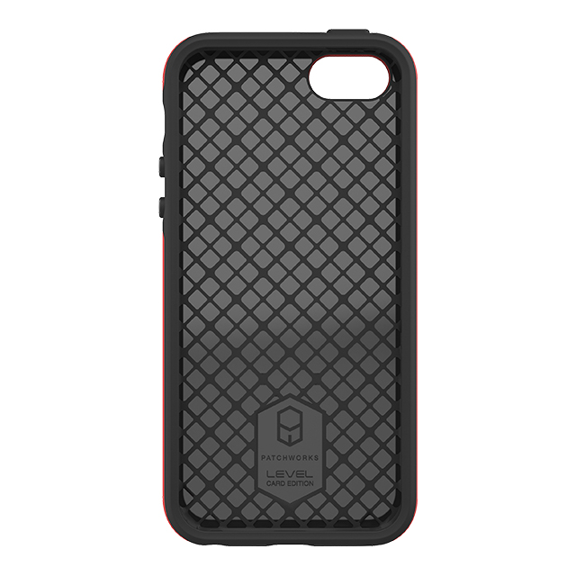 【iPhoneSE/5s/5 ケース】Level Case Card Edition (Black)