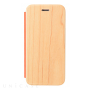 【iPhone6s/6 ケース】Maple Flip Case (ORANGE)