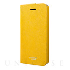 "【iPhoneSE/5s/5 ケース】Flap Leather Case ""Colo"" (Yellow)"