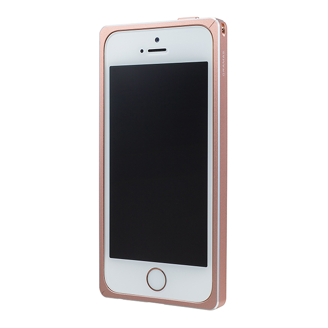 【iPhoneSE/5s/5 ケース】Straight Metal Bumper (Rose Gold)サブ画像