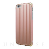 "【iPhone6s/6 ケース】""Rib"" Hybrid Case (Rose Gold)"