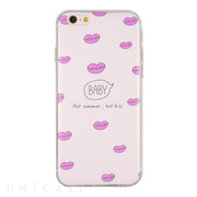 【iPhone6s/6 ケース】DESIGN PRINTS Soft Case (Lips)