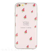【iPhone6s/6 ケース】DESIGN PRINTS Soft Case (Small Watermelon)