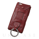 【iPhone6s Plus/6 Plus ケース】Baseball Gloves Leather Case (Red)